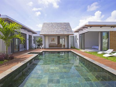 Photo for BIG BAY, LUXURY NEW CONTEMPORARY VILLA WITH PRIVATE SWIMMING POOL