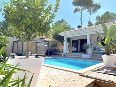Photo for DETACHED MODERN HOLIDAY HOUSE WITH POOL IN EL TORO / CALVIA