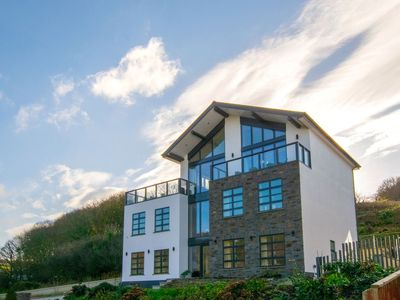 Photo for A modern architectural gem, designed to encapsulate the stunning sea views from as many rooms and va