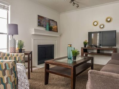 Photo for Central ★ Pool ★ Gated Parking | Near Uptown 1BR