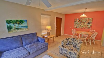 Nicely remodeled condo just a short walk from the beach. - Sleeps 6
