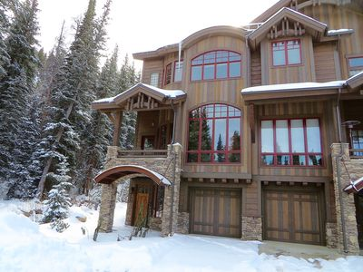 Photo for Gorgeous Mod Ski In/Out, 2 King Masters, Pvt Hot Tub, 2 Living Areas, on creek