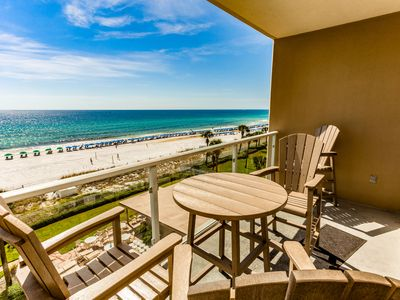 Photo for Stunning waterfront home w/ convenient beach access, shared pool, & gym