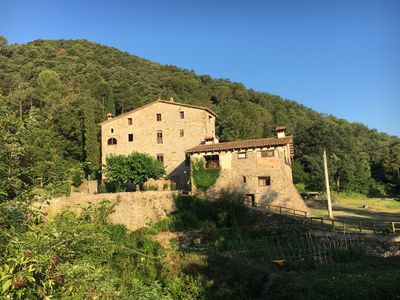 Photo for SIXTEENTH CENTURY FARMHOUSE MINUTES FROM MEDIEVAL VILLAGE OF BESALU