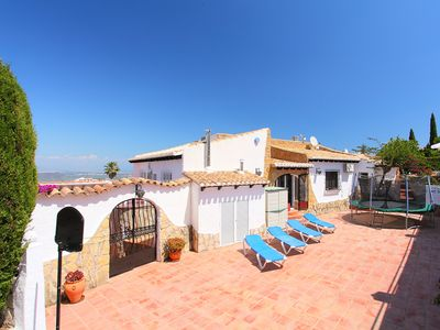 Photo for This 3-bedroom villa for up to 5 guests is located in Pego and has a private swimming pool and Wi-Fi