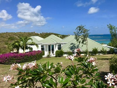 Photo for Beautiful 4 Bedroom Waterfront home in Long Bay, Antigua