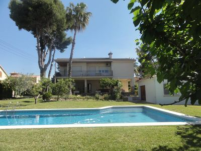 Photo for Segur De Calafell: Beautiful house with a large garden and a swimming pool for relaxing / Villa - Calafell