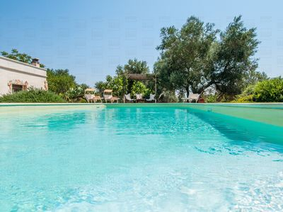 Photo for Trulli with private pool in Ceglie Messapica
