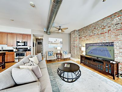 """Photo for New Listing! """"Trending on Broughton"""" - Chic 2BR Apartment, Walk to Shops!"""