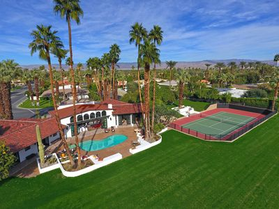 Photo for New 2 Acre Private Estate - Tennis Court, Pool/Spa, Orchards, for Non-Profit Use