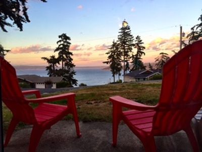 Photo for NEW LISTING, views of Baby Island and Holmes Harbor. 3 bed, 2 bath (250)