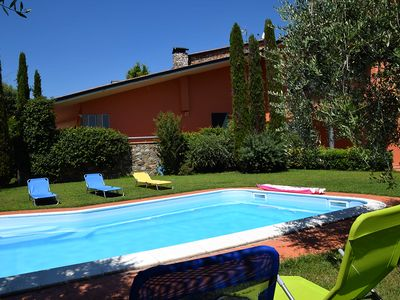 Photo for Villa with private pool in Tuscany-Lucca - 11 people