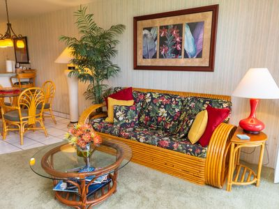 Photo for Hale Kamaole 220 Second floor condo, easy access to best beach on Maui!