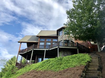 Photo for What If│3600 sqft 3BR Blue Ridge Cabin│270⁰ View
