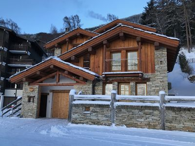 Photo for Apartment in a Savoyard chalet with all mod cons