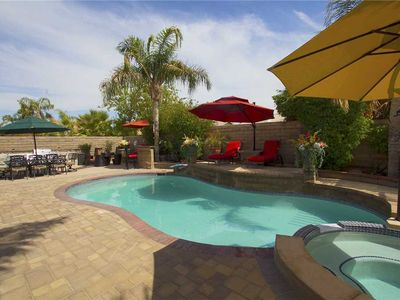 Photo for This La Quinta vacation rental home offers privacy, style and comfort in an outdoor oasis.