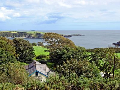 Photo for Detached cottage, quiet and secluded, with far reaching southerly views over Castle Haven to H…