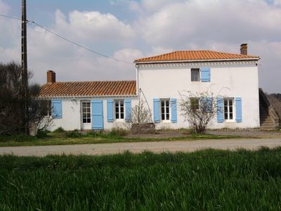 Photo for renovated farmhouse for 10/12 people at sea near calm