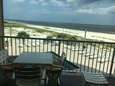 (304) Panoramic Water Views, directly on Biloxi beach