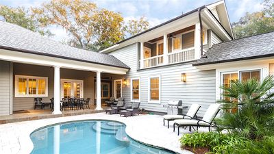 Photo for Kiawah Elegance - Near Beach w/ Heated Pool, Perfect Multi-Family Beach House