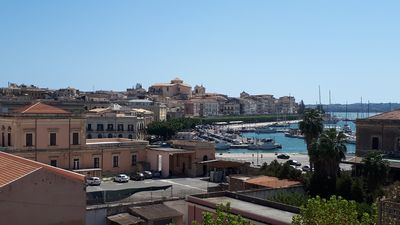 Photo for NEW ON HOMEAWAY.  Ortigia, Entire apartment with panoramic sea and harbor view