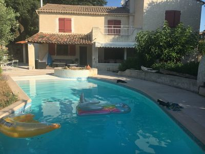 Photo for Large Villa with Pool, 4 Bedrooms, 3 Bathrooms, 3wc