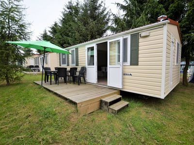 Photo for Mobilehome in campsite, nice location, shared swimming pool, entertainment