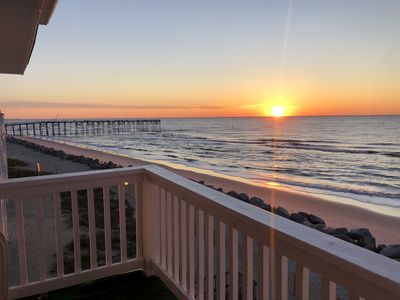 Photo for Cake by the Ocean - Oceanfront condo, panoramic views, pool, minutes to CB fun!