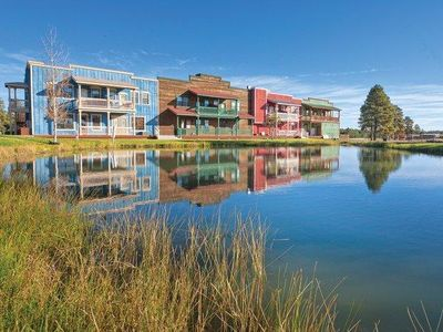 Photo for Southwest-Style Condos  w/ Fireplaces, Resort Pool and Hot Tub & Onsite Fishing