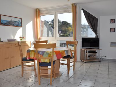 Photo for Appt T2 south facing, bright and quiet, beach Trestraou Perros-Guirec