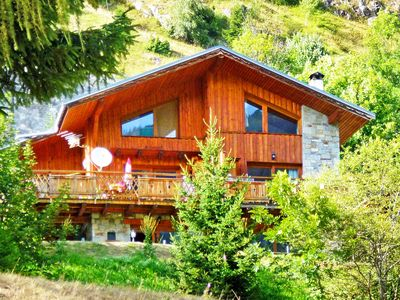Photo for Luxury chalet with sauna and ideally located.