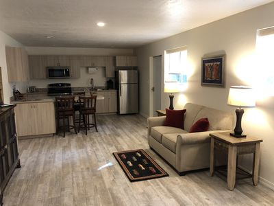 Photo for Walk out into the woods from this studio apartment located close to state lands