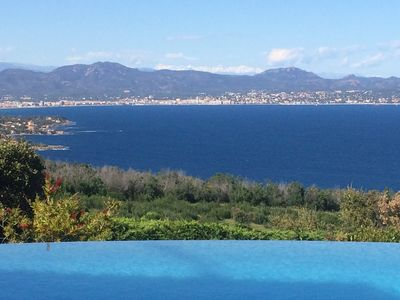 Photo for VILLA LES CYCAS Panoramic view Sea and Esterel