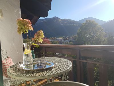 Photo for Cozy apartment with balcony and mountain views in the Oberallgäu! Quiet and close to the center.