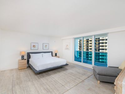 Photo for Full Oceanview 3bd/3ba in Luxury Eco-Hotel Private Residence South Beach