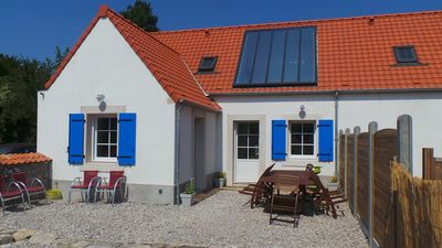 Photo for pretty holiday home in the heart of the village of Wissant