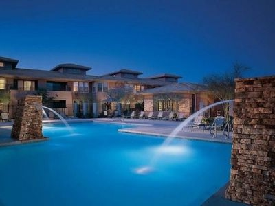 Photo for Quiet Poolside Gated Resort Condo at Grayhawk