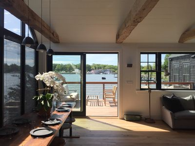 Photo for New Renovation Waterfront House with Dock. Best Location in Shelter Island.