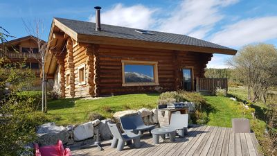 Photo for The naturalness of the wood, the calm, the serenity and a breathtaking view ...