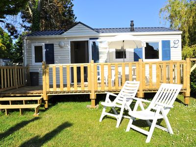 Photo for Camping Le Raguenès Plage **** - Mobilhome OCEANE 3 rooms 4 people