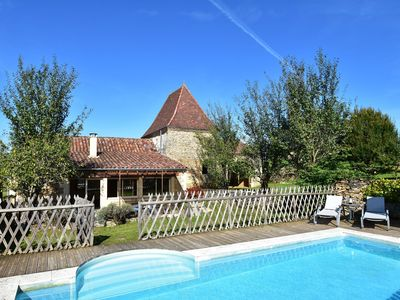 Photo for Beautiful house with large playing field in the historic area of Saint-Geniès