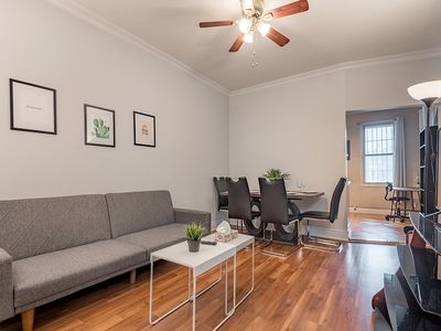 Photo for BRIGHT and COZY 4BedR in the ♥ of Montreal | FREE PARKING