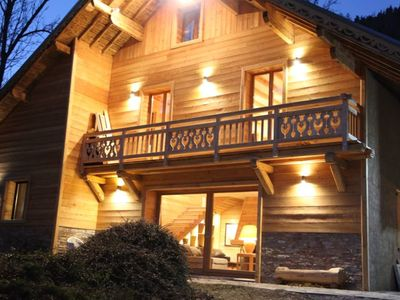 Photo for Luxury chalet LA LUGE exceptional location, full sun