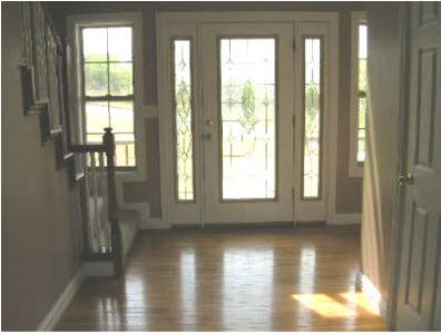 Entry way- hardwood and tile floors throughout main floor