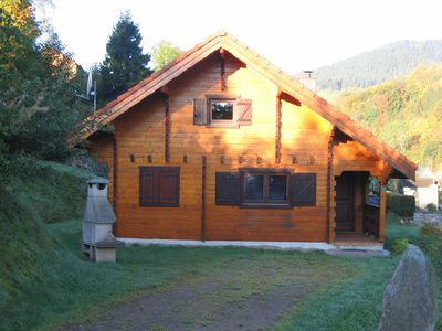 Photo for Chalet located in the mountains near the resort of Lac Blanc SUMMER WINTER.