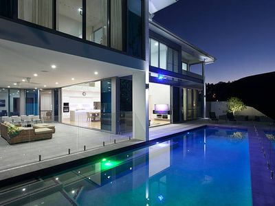 Photo for Sunset Beach House - Magnificent Luxury Beachside Mansion