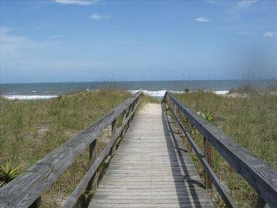 Photo for A GREAT ESCAPE!!!  OCEAN VIEW, STEPS TO THE BEACH, PRIVATE POOL