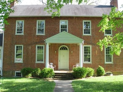 Rose Hill - 1820 Home with bricks made on the farm. Good porch viewing of vistas