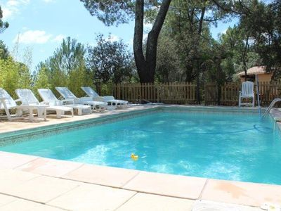 Photo for Nice big house for 2 families (10 people) 5 minutes from Uzès