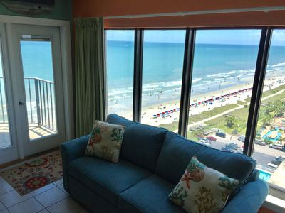 Photo for Discounted Oceanfront Condo with 5 Star Reviews!